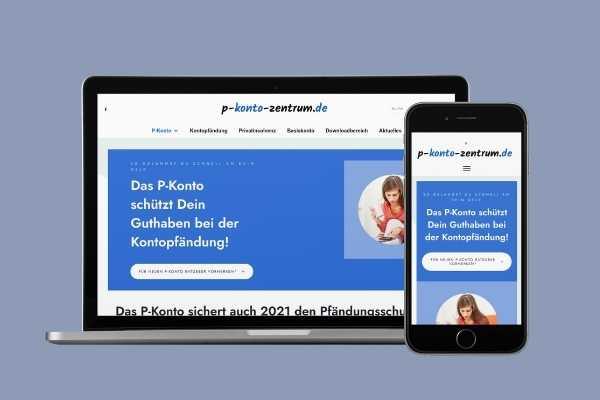 Screenshot von p-konto-zentrum.de