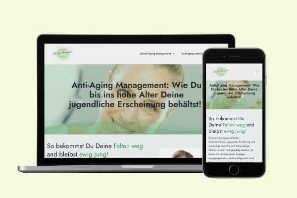 Screenshot von antiagebrush.de